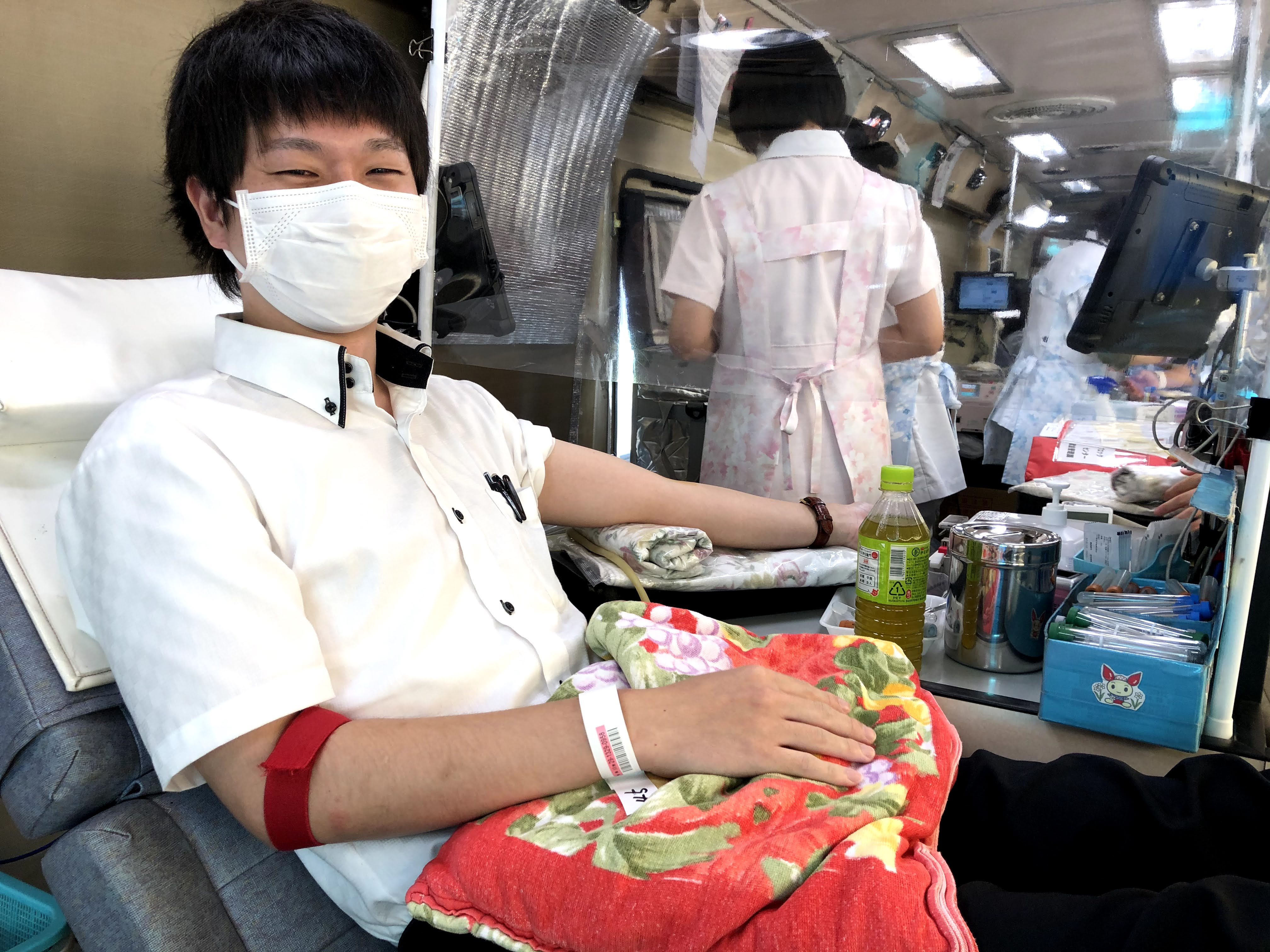 献血活動13年目!!